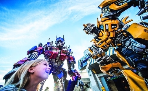 Transformers:The Ride-3D