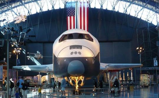 航空宇宙博物館(新館)The Steven F. Udvar-Hazy Center